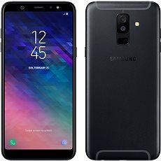 Samsung Galaxy A6+ černý - Mobilní telefon