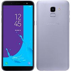 Samsung Galaxy J6 Duos fialový - Mobilní telefon