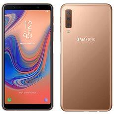 Samsung Galaxy A7 Dual SIM zlatá - Mobilní telefon