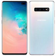 Samsung Galaxy S10+ Dual SIM 128GB bílá - Mobilní telefon