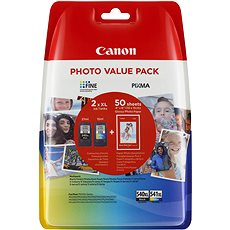 Canon PG-540XL + CL-541XL + fotopapír GP-501 Multipack - Cartridge