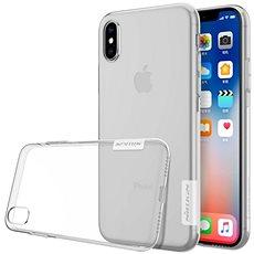 Nillkin Nature pro Apple iPhone X a Xs Transparent - Kryt na mobil