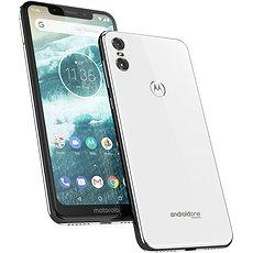 Motorola One Dual SIM Bílá  - Mobilní telefon
