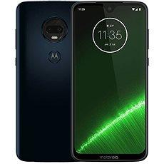 Motorola Moto G7 Plus modrá - Mobilní telefon