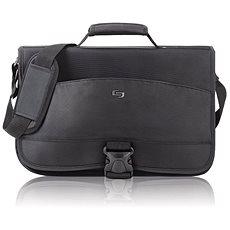 "Solo Conquer Messenger Bag Black 15.6"" - Brašna na notebook"