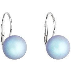 EVOLUTION GROUP 31143.3 světle modrá náušnice s perlou Swarovski® (925/1000, 1 g) - Náušnice