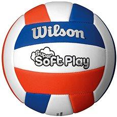 Wilson Super Soft Play Volleyball Red white blue - Volejbalový míč