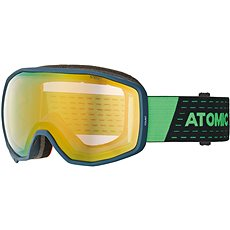 Atomic Count Stereo Dark Blue/Green - Lyžařské brýle