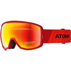 Atomic Count Jr Spherical Red/Black - Lyžařské brýle