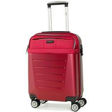 Rock TR-0166/3-S ABS/PES - červená - Cestovní kufr s TSA zámkem