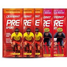 Enervit PRE Sport MIX, 3x45 g pomeranč a 2x45 g brusinka - Energetický gel
