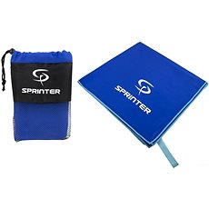 Sprinter - ručník z mikrovlákna 70 × 140 cm - modrý - Ručník
