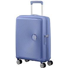 American Tourister Soundbox Spinner 55 Exp Denim Blue - Cestovní kufr s TSA zámkem