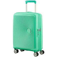 American Tourister Soundbox Spinner 55 Exp Deep Mint - Cestovní kufr s TSA zámkem