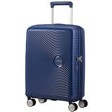American Tourister Soundbox Spinner 55 Exp Midnight Navy - Cestovní kufr s TSA zámkem