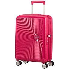 American Tourister Soundbox Spinner 55 Exp Lightning Pink - Cestovní kufr s TSA zámkem