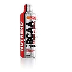 Nutrend BCAA Liquid, 1000 ml, - Aminokyseliny