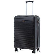 Modo by Roncato Houston 67 cm, 4 kolečka, černá - Cestovní kufr s TSA zámkem