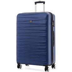 Modo by Roncato Houston 77 cm, 4 kolečka, modrá - Cestovní kufr s TSA zámkem