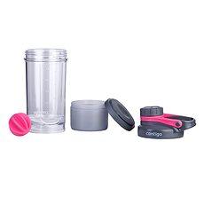 Contigo Shake & Go FIT se zásobníkem růžový - Shaker