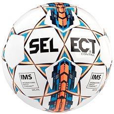 Select Contra white orange - Fotbalový míč