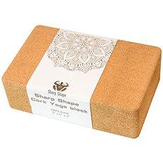 Sharp Shape Cork Yoga block - Jóga blok