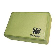 Sharp Shape Yoga block green - Jóga blok