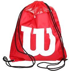 Wilson W Cinch Bag Red - Sportovní batoh