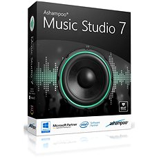 Ashampoo Music Studio 7 (elektronická licence) - Elektronická licence