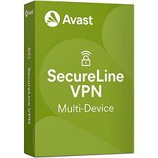 Avast SecureLine VPN Multi-device na 5 zařízení na 12 měsíců (elektronická licence) - Bezpečnostní software