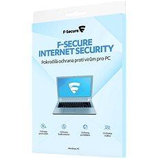 F-Secure INTERNET SECURITY pro 3 zařízení na 1 rok (elektronická licence) - Antivirus