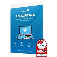 F-Secure SAFE pro 3 zařízení na 1 rok (elektronická licence) - Antivirus