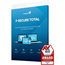 F-Secure TOTAL pro 3 zařízení na 1 rok (elektronická licence) - Antivirus