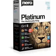 Nero 2019 Platinum BOX - Vypalovací software