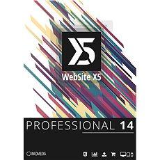 WebSite X5 Professional (elektronická licence) - Elektronická licence