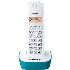 Panasonic KX-TG1611FXC Blue/Green - Telefon pro pevnou linku
