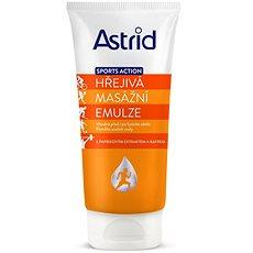 ASTRID Sports Action Hřejivá masážní emulze 200 ml - Tělový krém