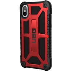 UAG Monarch case, crimson - iPhone XS/X - Kryt na mobil