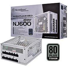 SilverStone Nightjar Fanless Titanum NJ600 600W - Počítačový zdroj