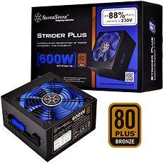 SilverStone Strider Plus Bronze ST60F-PB 600W - Počítačový zdroj