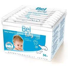 BEL Baby Dětské vatové tyčinky (56 ks) - Vatové tyčinky