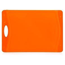 BANQUET krájecí prkénko  37x25,5cm A12030, oranžové - Krájecí deska