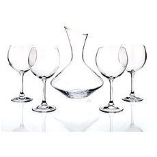 BANQUET Crystal Vínový set 5ks A01165 - Sklenice na víno