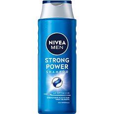 NIVEA Men Strong Power Shampoo 400 ml - Šampon pro muže