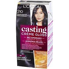 ĽORÉAL CASTING Creme Gloss 210 Modročerná - Barva na vlasy
