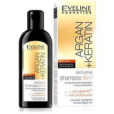 EVELINE Cosmetics Argan + Keratin Shampoo 8in1 150 ml - Šampon