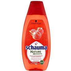 SCHWARZKOPF SCHAUMA Natural Moments Succulent Raspberry & Sunflower Oil 400 ml - Šampon
