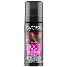 SYOSS Root Retoucher Hnědý 120 ml - Sprej na odrosty