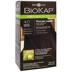 BIOKAP Nutricolor Delicato Brown Gentle Dye 4.00 140 ml - Přírodní barva na vlasy