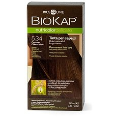 BIOKAP Nutricolor Delicato Honey Chestnut Gentle Dye 5.34 40 ml - Přírodní barva na vlasy